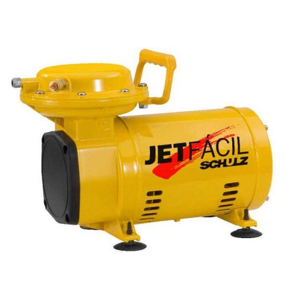 Motocompressor de Ar SCHULZ JETFACIL 40PSI Bivolt